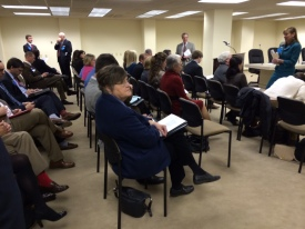 Room 304 at the Alabama State House was filled with constituents.